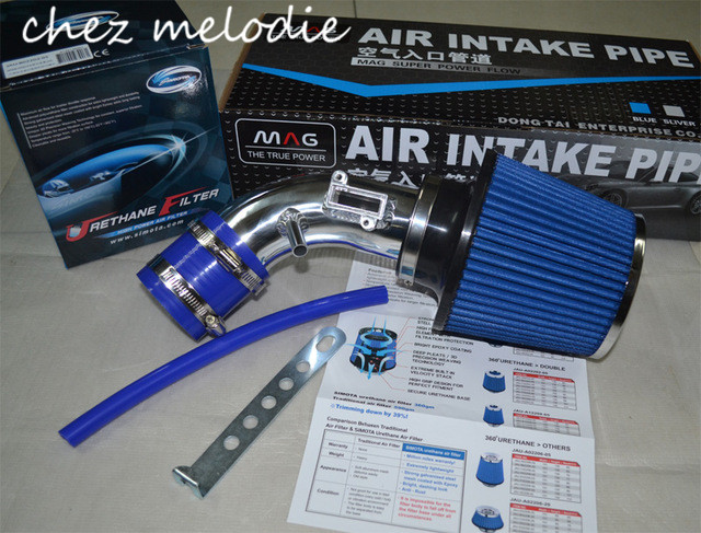 AIR INTAKE pipes kit+Air FILTER for Honda Civic 1.8 8/9/9.5, VEZEL 1.8L, XR-V 1.8, pls tell me the year of your car pqy plastic air intake pipe for honda civic 92 00 ek eg with air filter intake pipe black pqy ait11bkn