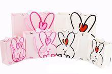 Emarra 22x17x10cm Lovely Creative Rabbit Gift Bag Baby Full Moon Childrens Birthday Handbag