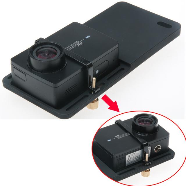 DJI OSMO Zhiyun Feiyu Stabilizer Gimbal Switch Plate Adapter For Gopro Hero 7 6 5 4 3+Xiaomi yi 4K SJCAM SJ4000 5000 SJ6 7 Mount