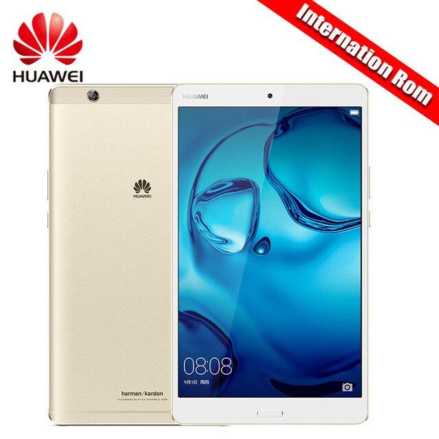 "Международный Встроенная память Huawei MediaPad M3 4 ГБ Оперативная память 32 ГБ/64 ГБ/128 г KIRIN 950 Octa core 2 К Экран 8.4 ""Планшеты Android 6.0 8.0MP + 8.0MP P"