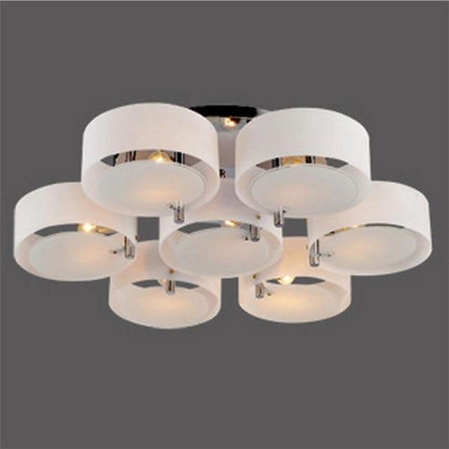 Loft Led Deckenleuchte Modernen Minimalistischen Wohnzimmer Lampe Restaurant Schlafzimmer 3 5 7 Runde