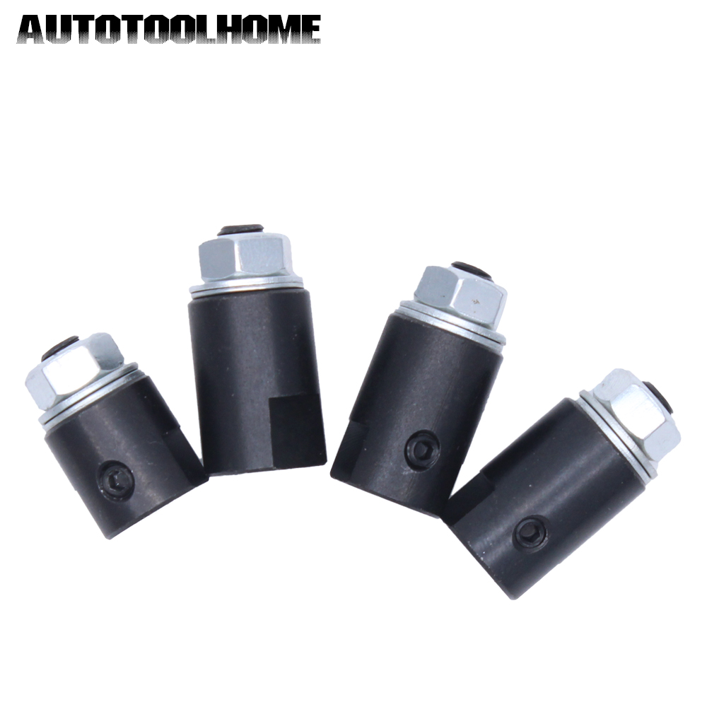 1Pcs Motor Shaft Adapter For Saw Blade Connection Coupling Joint Connector Coupler Sleeve Fit 3.17 4 5 6mm diy motor shaft coupling joint golden