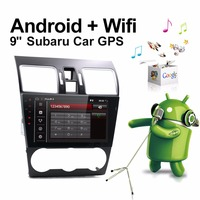Bosion 9 Car Multimedia Radio with Frame Android 7.1.1 For Subaru Forester 2017 HD 1024*600 Full Touch Screen GPS Naviagtion BT