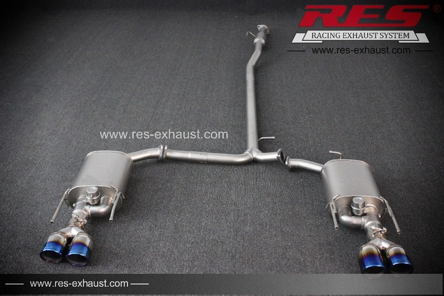 US $1152 27 |Performance Auto Parts RES Racing For Old Toyota Camry  Stainless Steel Exhaust With Valve Exhaust system Exhaust Catback-in  Exhaust