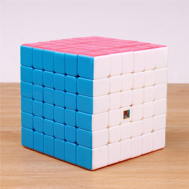 Moyu MF6 Cubing Classroom 6x6 Magic Cube stickerless professional puzzle speed cube 6x6x6 cubo magico toys