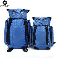 2017 Newest Stylish Cool Owl Backpack Cartoon Cute Laptop Backpack Waterproof For Women Men Travel Backpack
