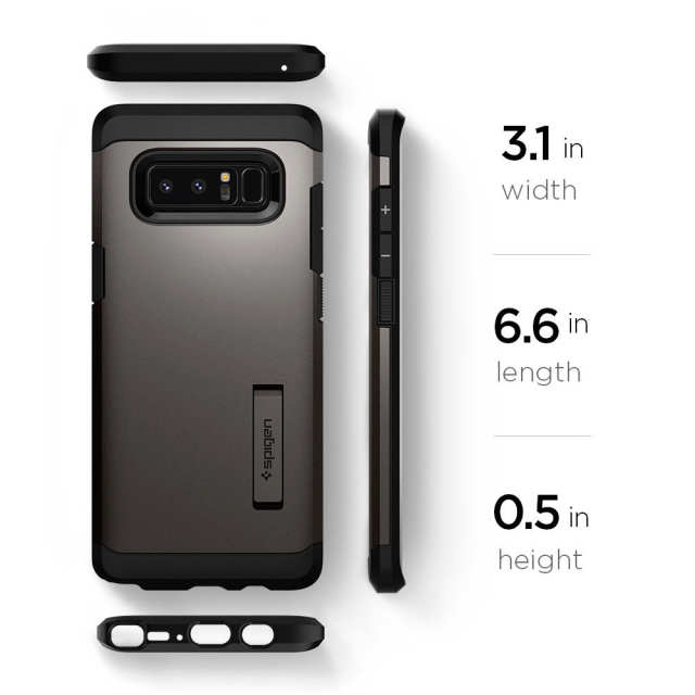 new product 7d3b4 d6d0d US $25.99 |100% Original SPIGEN Tough Armor Cases for Samsung Galaxy Note  8-in Fitted Cases from Cellphones & Telecommunications on Aliexpress.com |  ...