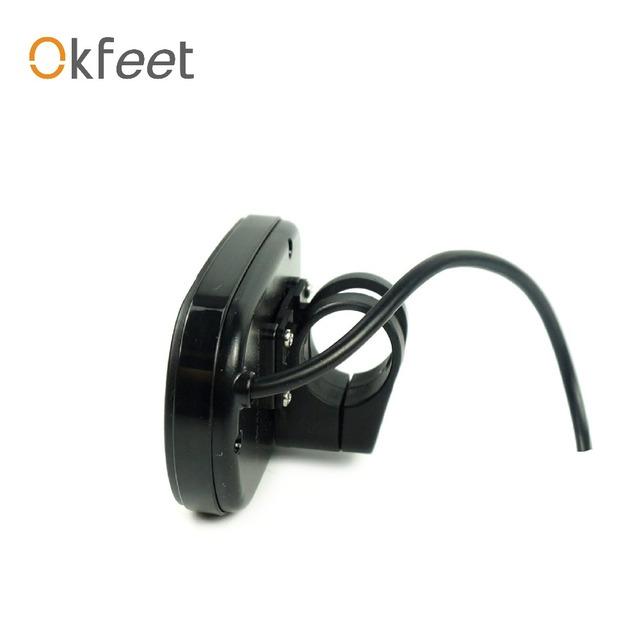 Okfeet Free Shipping ebike kunteng intelligent KT LCD5  Control Panel Display Electric Bicycle bike Parts KT