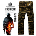 Top Quality 2016 New Arrival Men's Camouflage Cargo Pants Military Casual Pants Overall Trousers For Male
