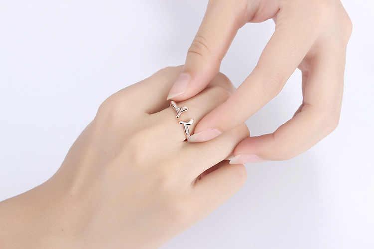 ที่มีคุณภาพสูงแฟชั่นฟุตทารกเงาคริสตัลหญิงเงิน925 ladies 'fingerแหวนแต่งงานของขวัญเครื่องประดับขายส่งผู้หญิง