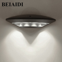BEIAIDI12W Waterproof Led Wall Lamp Outdoor Indoor Led Porch Light Modern Aluminum Villa Fence Garden Balcony