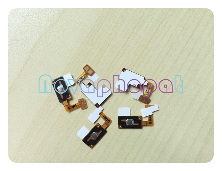 Novaphopat para samsung grand prime g530 SM-G530 g530h g531 g531h g531f casa botão cabo flexível + rastreamento