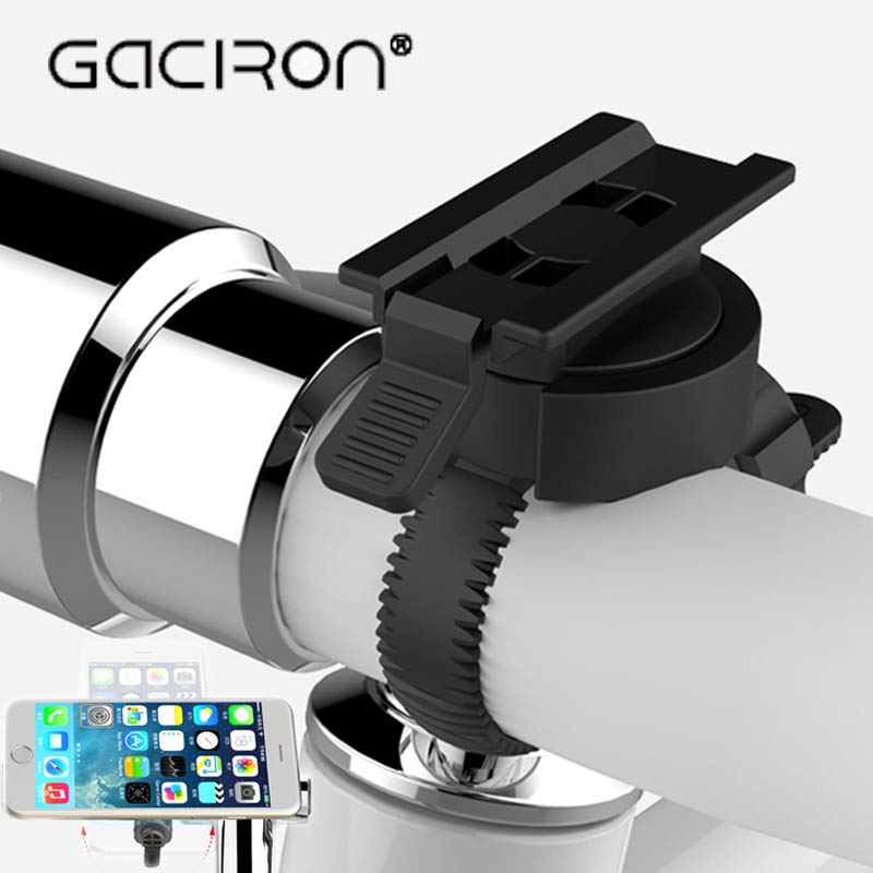 GACIRON UNIVERSAL BICYCLE PHONE HOLDER BIKE ROAD MOBILE PHONE HANDLEBAR STAND ROTATION HOLDER MOUNT RIDE BIKE ACCESSORIES bicycle phone holder universal mtb bike handlebar mount holder cell phone stand bicycle holder cycling accessories parts