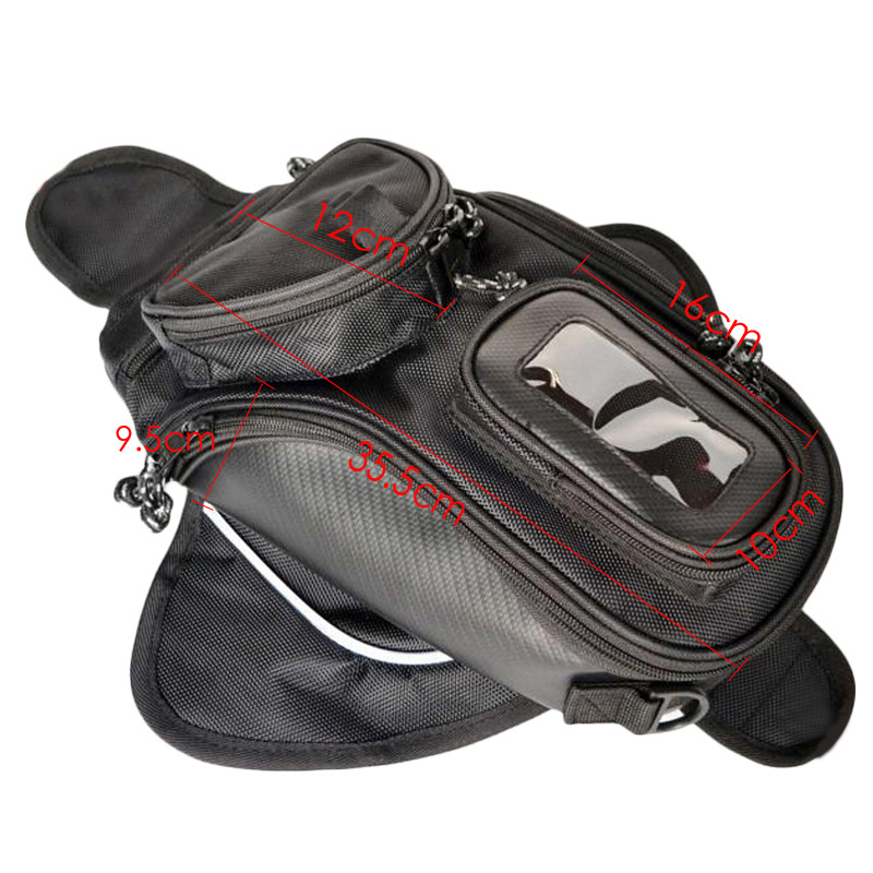 Cool Waterproof Motorcycle Tang Bag Pack Storage Hanging Belt Fanny Packs