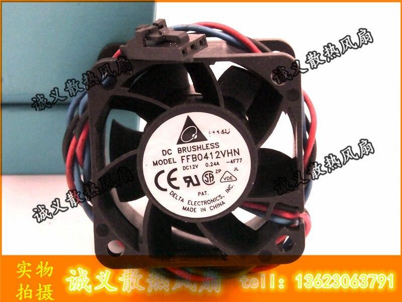 Delta FFB0412VHN 24A fan F00 40*40*28mm 4cm  DC 12V 0