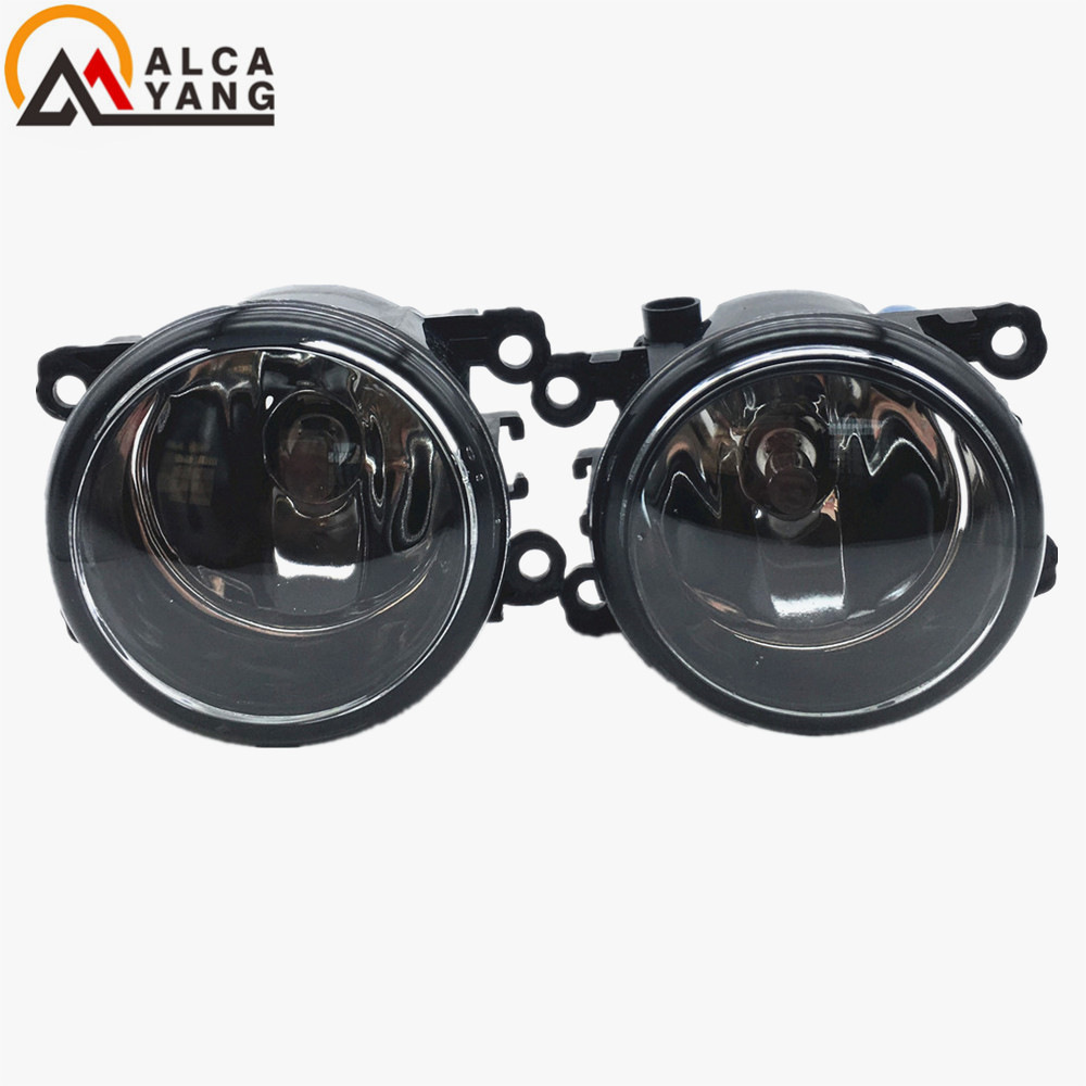 Malcayang angel eyes Car styling Halogen fog lights fog lamps For Renault DUSTER 2012 12 V 2 PCS malcayang fog lights for polo 12v 55w h11 1 set car styling halogen for lexus rx350 awd 2009 2013