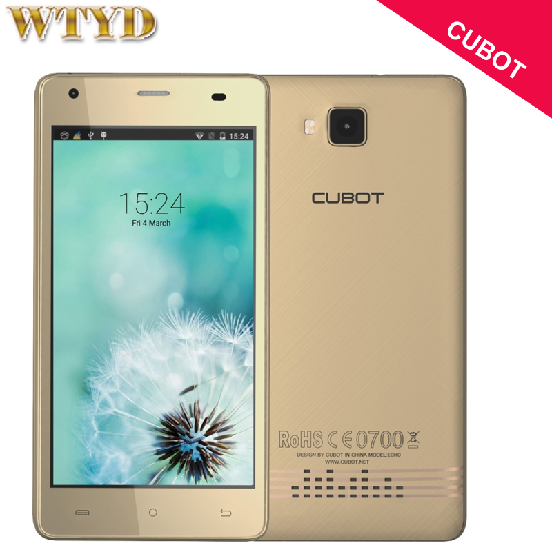 Original CUBOT Echo 16GB 2GB Network 3G 5 0 inch Android 6 0 MTK6580 Quad Core