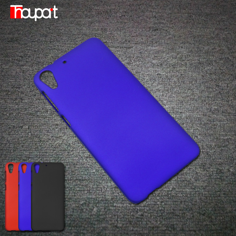 For HTC 728 Cases Rubber Paint Good touch feel font b Phone b font Bags PC