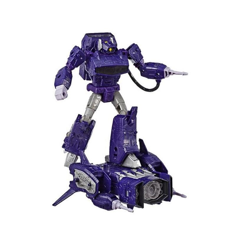 18cm transformateurs siège guerre pour Cybertron trilogie Optimus Prime onde de choc PVC figurine générations Collection modèle jouets - 5