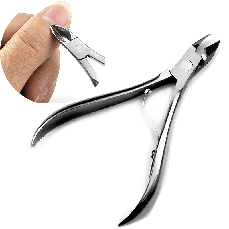 Bittb Stainless Cuticle Scissors Cutter Manicure Pedicure Nail Tools Foot Hand Dead Skin Remover Beauty Cuticle Clipper Nipper mini kompas sleutelhanger