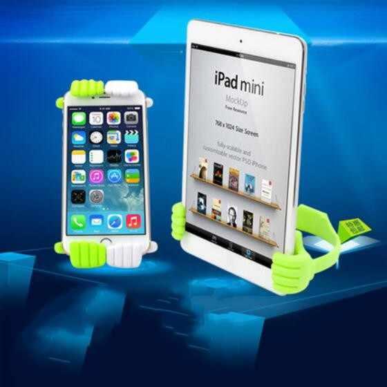 Flexible Ständer Halterung Fall für Pad iPhone 5 s SE 6 s 7 plus Daumen OK Halter Samsung Galaxy s5 s6 S7 rand S8 Tablet Unterstützung Abdeckung