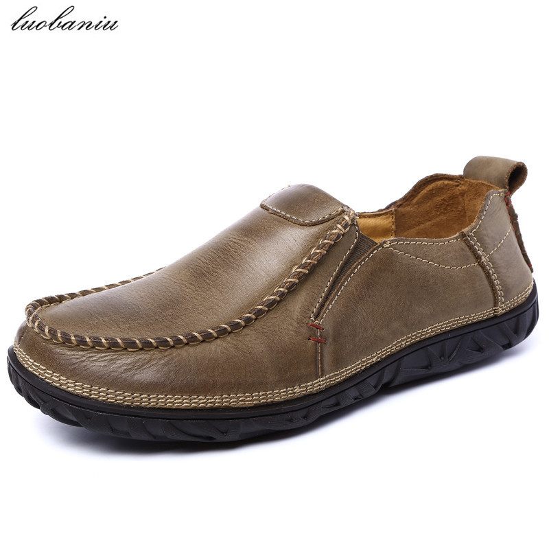 Genuine Leather Men Shoes Casual Moccasins Men Loafers High Quality Leather Shoes Men Slip On cbjsho brand men shoes 2017 new genuine leather moccasins comfortable men loafers luxury men s flats men casual shoes