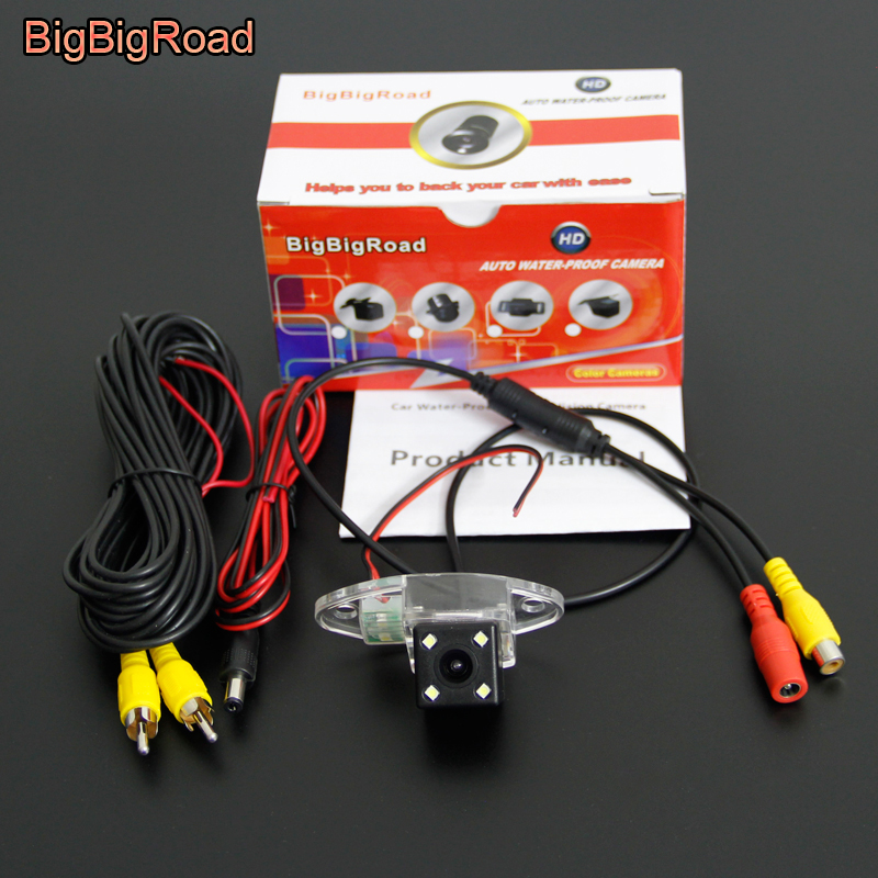 BigBigRoad Car Rear View font b Camera b font For Buick Enclave 2008 2009 2010 2011