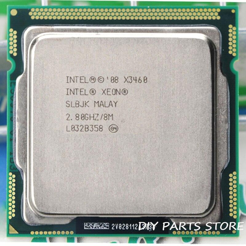 Intel Core Xeon X3460 8 M Cache 2.8 GHz Torbu Fréquence 3.491 core) LGA 1156 P55 H55 égale