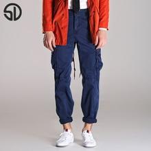 Casual Straight Pants Men Clothing Pants Pure Cotton Mens Joggers 5 Colors Leisure Trousers Stylish Masculine Hombre Clothes