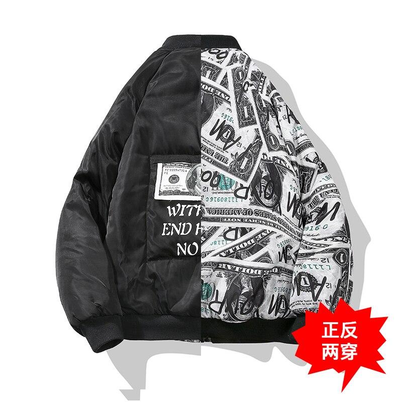 Bormandick hiver hommes vestes et manteaux hiver mode chaud hommes veste marque épais imprimé vestes manteaux KXP18-CH02 70 P