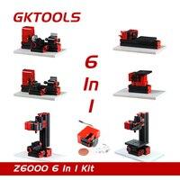 On Sale 6 In 1 Mini Lathe Machine Mini Combined Machine Tool DIY Mini Micro Lathe