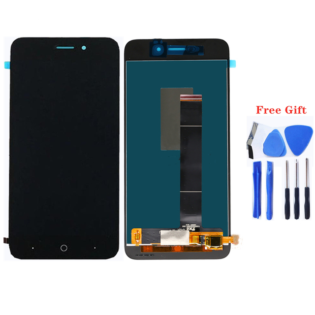 100% test product suitable for ZTE Blade a601 LCD screen LCD display for ZTE blade A601 mobile phone accessories LCD screen