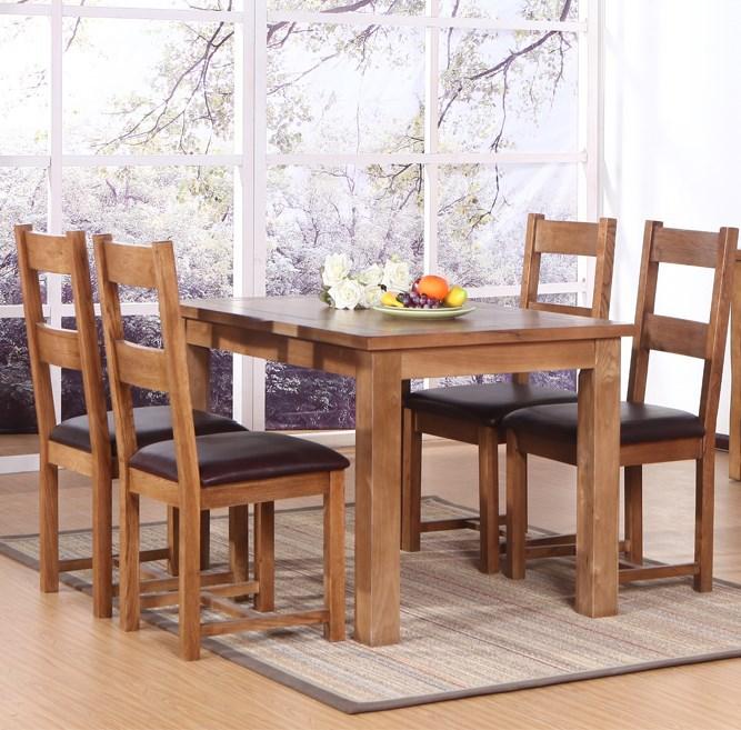 Estilo europeo de madera mesas minimalista moderno comedor for Muebles modernos estilo europeo