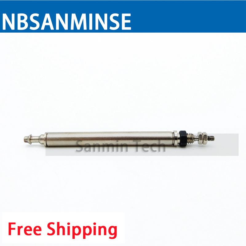 CJ1 Compressed Air Cylinder Pneumatic Cylinder Single Acting Spring Return SMC Similar Type Mini Cylinder High Quality Sanmin high quality double acting pneumatic air cylinder gripper mhc2 10d smc type angular style aluminium clamps