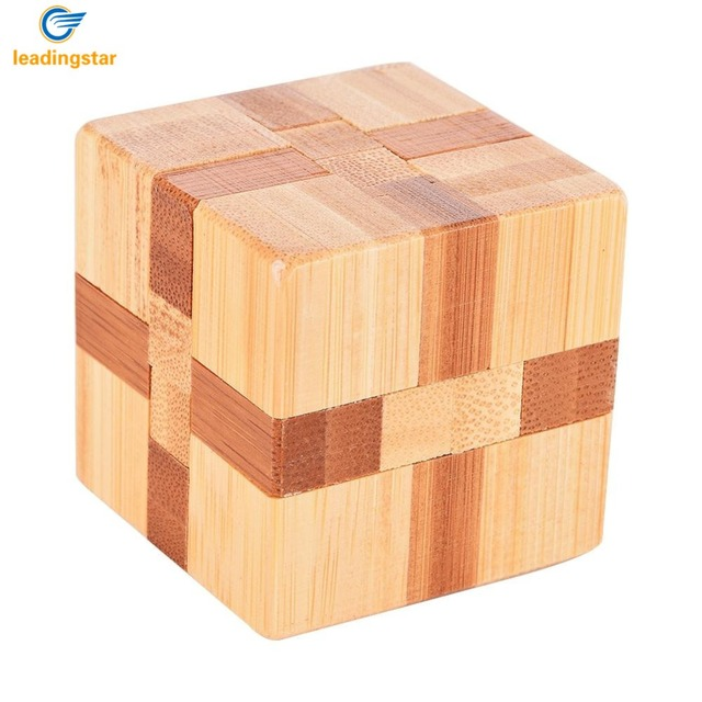 US $2 42 39% OFF|LeadingStar cubo magico Cube Lock Logic Puzzle Burr  Puzzles Brain Teaser Intellectual Removing Assembling Toy zk15-in Puzzles  from