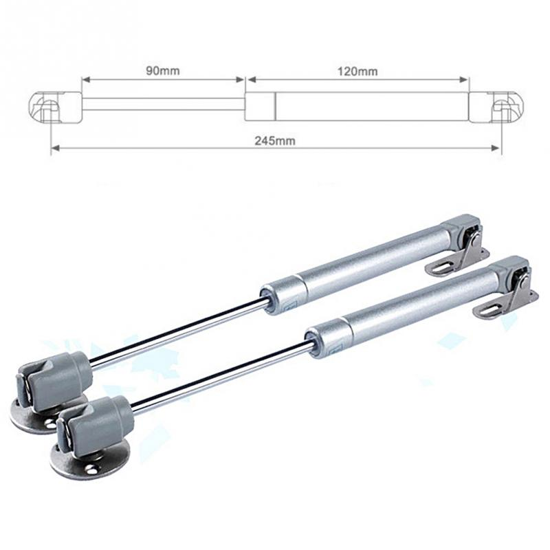 40-150N/4-15KG Hydraulic Hinges Door Lift Support For Kitchen Cabinet Pneumatic Gas Spring For Wood Furniture Hardware Wholesale