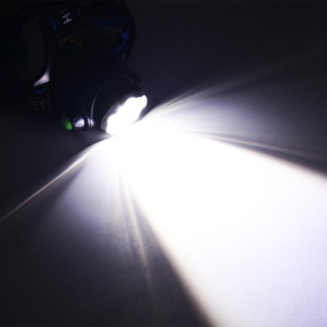 4000LM Headlight CREE T6 LED Head Lamp Headlamp Linterna Torch LED Flashlights Biking Fishing Torch for 18650 Battery