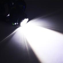 Lumiparty 4000LM Headlight CREE T6 LED HeadLamp  Linterna Torch LED Flashlights Biking Fishing Torch for 18650 Battery