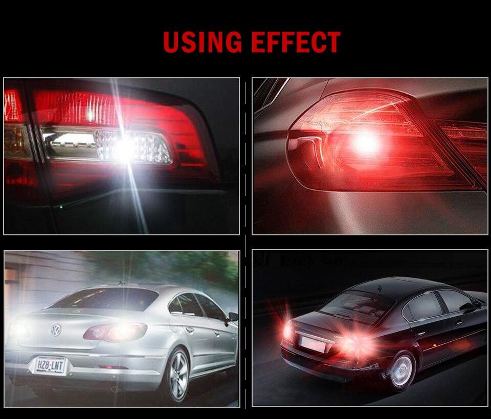 HTB1M 97aUrrK1RkSne1q6ArVVXal 1X P21W Ba15s 1156 Led Filament Chip Car Light Bulb S25 Auto Vehicle Reverse Turning Instructions Lamp White 12v 24v 6000K