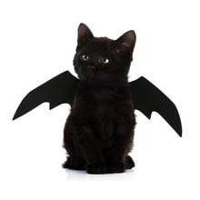 Новинка года, костюм для косплея с крыльями летучей мыши для питомцев, собак, кошек, летучих мышей, маскарадный костюм на Хэллоуин, костюм с крыльями, костюмы для кошек, реквизит для фотосессии, головной убор