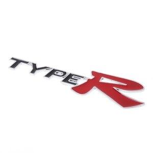 Image 2 - 3D Emblem Badge Sticker Decal Metal Type R For Honda CR V XR V HR V Accord Jazz