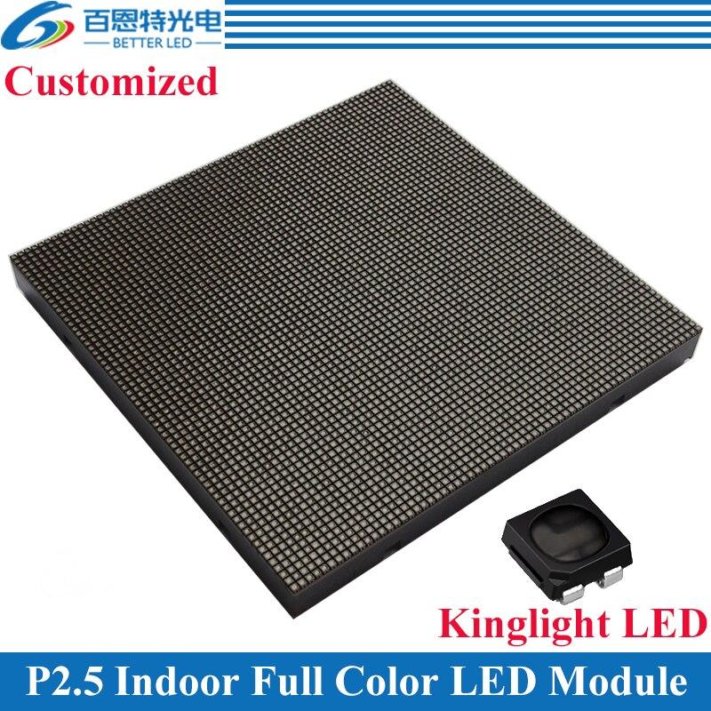 100pcs/lot Kinglight Black LED 160*160mm 64*64 pixels 1/32 Scan 3in1 RGB P2.5 Indoor Full color LED Display module100pcs/lot Kinglight Black LED 160*160mm 64*64 pixels 1/32 Scan 3in1 RGB P2.5 Indoor Full color LED Display module