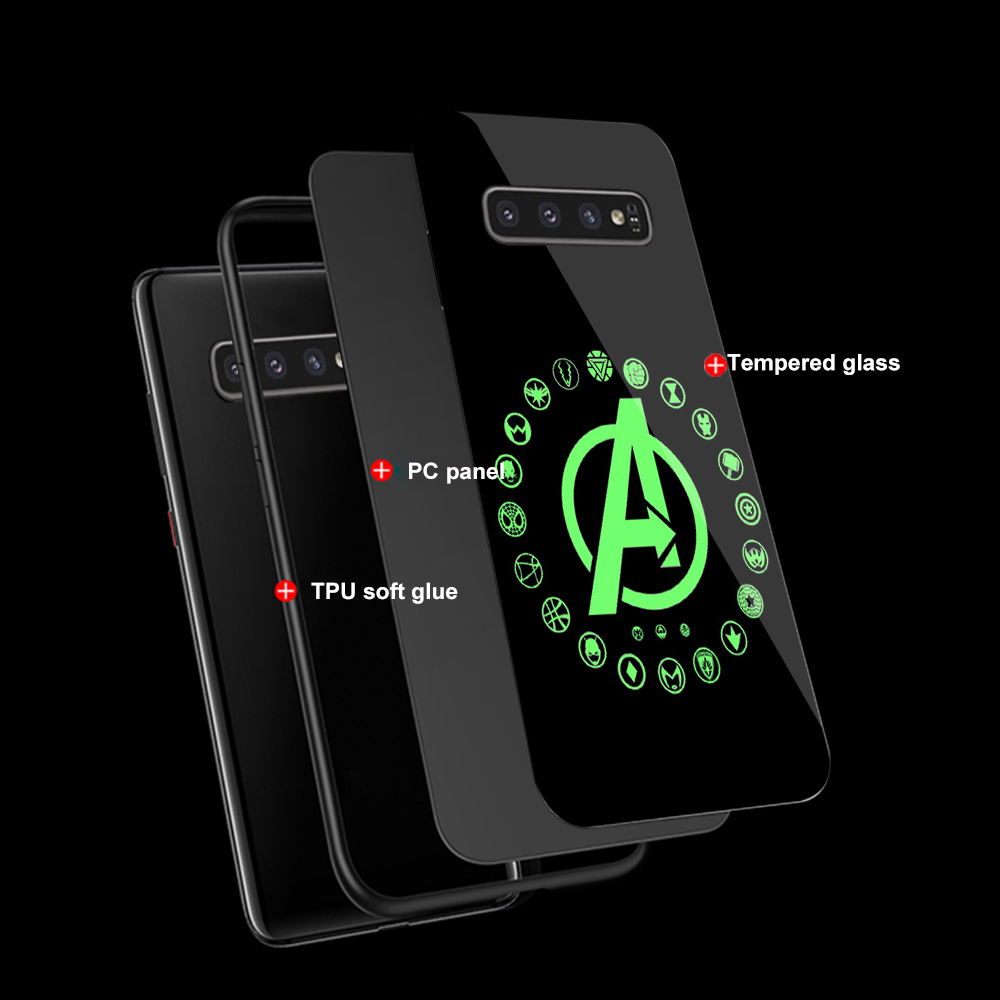 Image 5 - ciciber Marvel Venom For Samsung Galaxy S10e S10 S9 S8 Plus S10+ S9+ S8+ Phone Cases for Samsung Note 9 8 Tempered Glass Cover-in Fitted Cases from Cellphones & Telecommunications