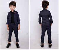 2017 New Arrival Fashion Baby Boys Kids Blazers Boy Suit For Weddings Prom Formal Dress Wedding