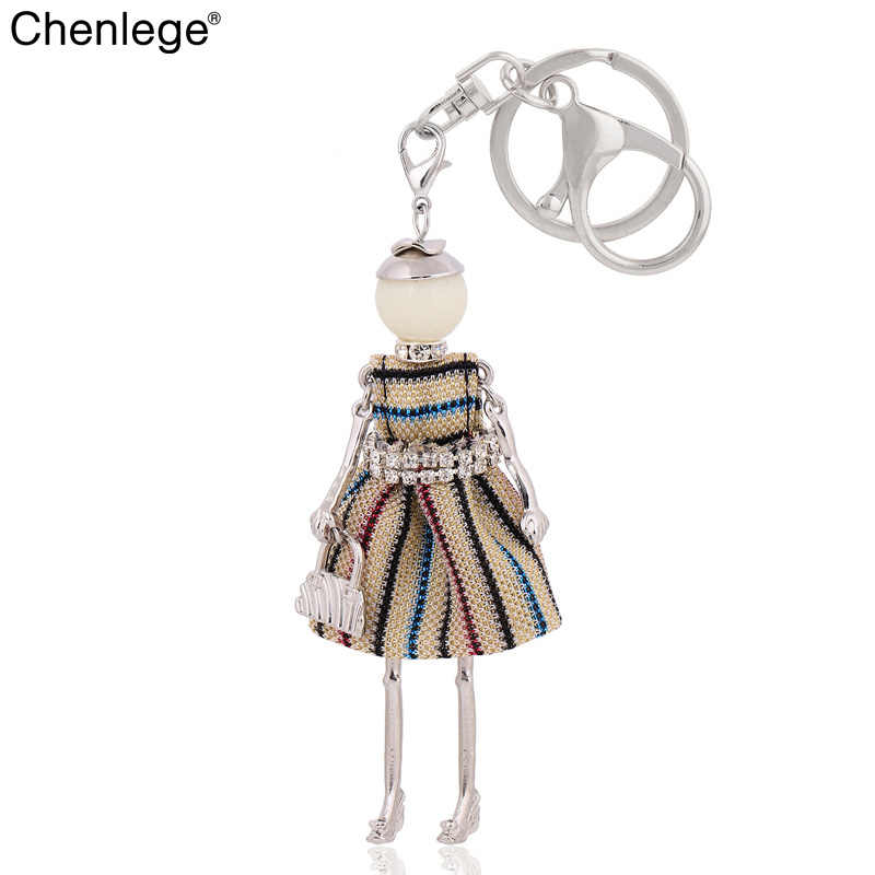8cc6d1197312 chenlege statement 2018 new jewelry women keychain car pendant key chain   key  ring charms gifts