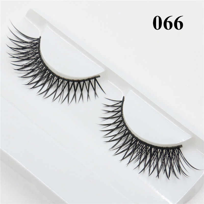 ba89c599b4c Detail Feedback Questions about 3D Mink Strip Lashes Wispie False ...