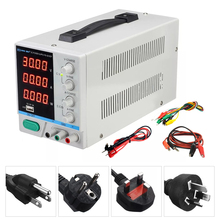 Regulated Power-Supply 30v 10a Usb-Charging-Repair Laboratory Adjustable PS-3010DF 4-Digit-Display