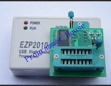 цена на Free Shipping EZP2010 USB SPI Programmer +V1.8adapter SPI Flash SOP8 DIP8 W25 MX25