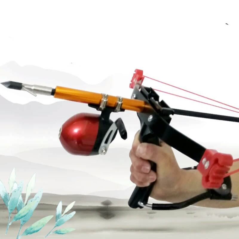 Outdoor Powerful Sling Shot Folding Wrist Lock Adult Camouflage Catapult Marble Games Hunting Slingshot With Rubber Band free shipping powerful camouflage bow catapult outdoor hunting slingshot folding wrist high velocity brace hunting catapult