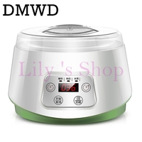 Electric Yogurt Maker With 4 Cups Automatic Yoghurt Rice Wine Machine Buttermilk Sour Cream Natto Making
